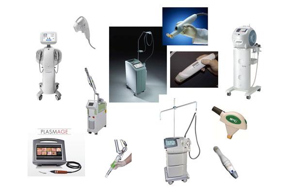 8種類の機器